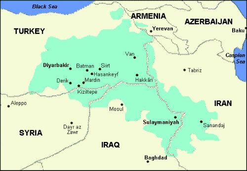 Kurdistan_karta