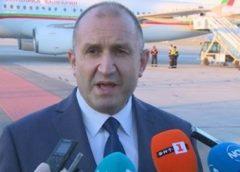 МУТРАТА БАНДИТ Борисов сготви ПРЕЗИДЕНТА с Ковид. РАДЕВ при завръщането си от Естония: Това е АКТИВНО МЕРОПРИЯТИЕ на мутрите от България. ВИДЕО: